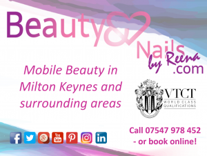 Beauty and Nails by Reena Body and Mind beauty nails waxing massage pamper parties hen night Milton Keynes